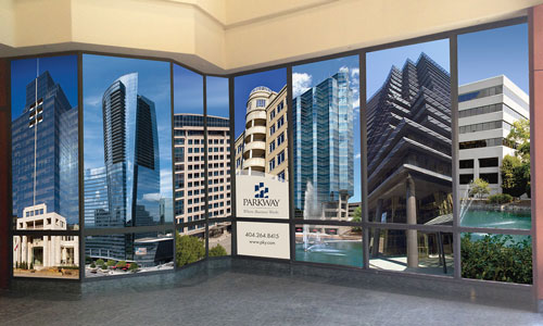 Parkway Large Format Window Graphics