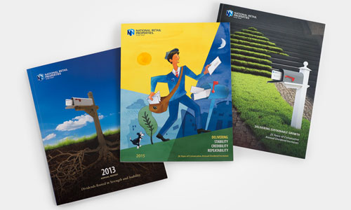 NNN Annual Report Covers